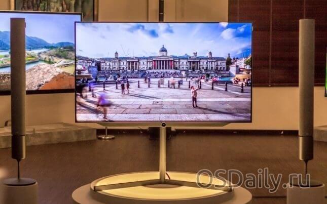 Atlas запускає перший oled-телевізор від loewe ag в сінгапурі