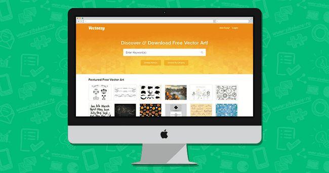 Vecteezy - якісні векторні графічні зображення для дизайнерів
