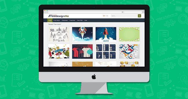 Free Design File - більше 30 категорій з векторною графікою
