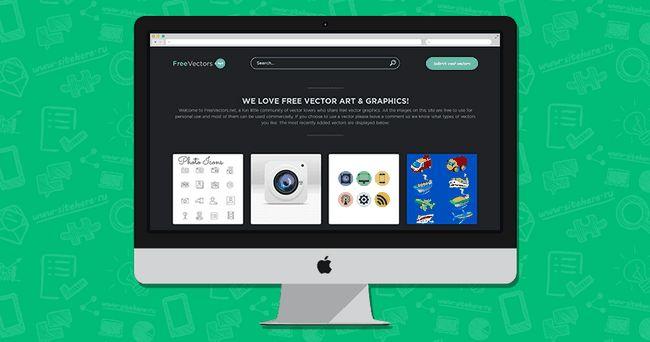 FreeVectors - спільнота, яка створює векторні зображення