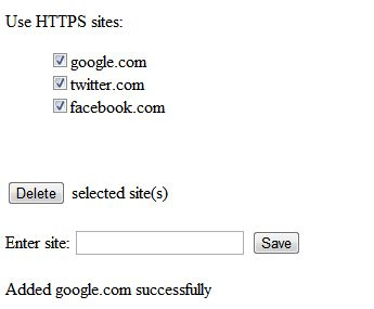Безпека https підключень в різних браузерах.