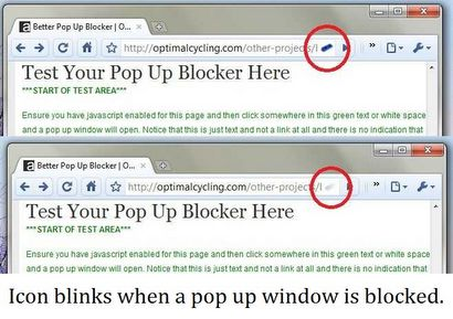 Блокування спливаючих вікон в google chrome better pop up blocker.