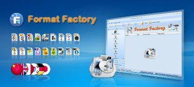 Format factory 3.1.1 - безкоштовний конвертер відео і аудіо файлів різних форматів