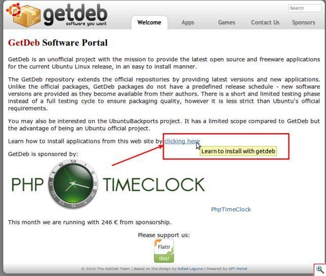 Getdeb і playdeb - програми для ubuntu, яких у вас не було