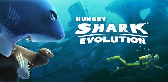 Гра мегалодон (hungry shark evolution) на комп`ютер