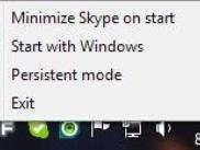 Як позбутися від спливаючого вікна «skype home