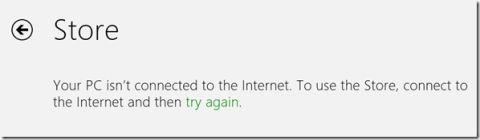 Як налаштувати проксі сервер для додатків metro в windows 8.
