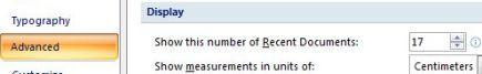 Як очистити або видалити список недавніх документів в office 2007.
