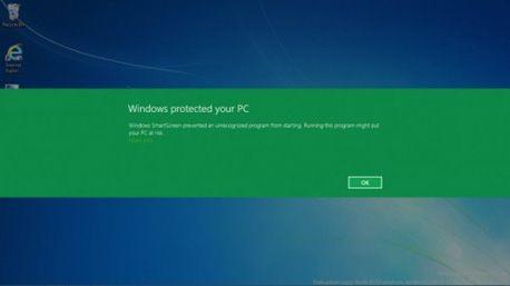 Як відключити або включити фільтр smartscreen в windows 8.