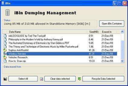 iBin-dumping-management