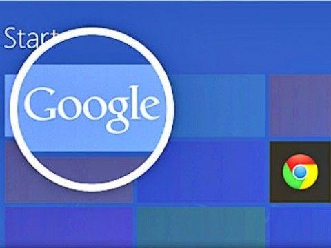 Як встановити пошук google в windows 8.