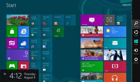 Як включити блокування екрану в windows 8.