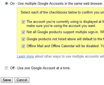 Як увійти в систему з декількома обліковими записами в google.