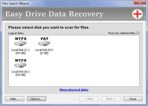 Як відновити зовнішній жорсткий диск
