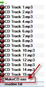 Запис аудіо MakeCD