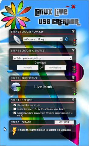 Live usb creator: спробувати linux, не чіпаючи windows