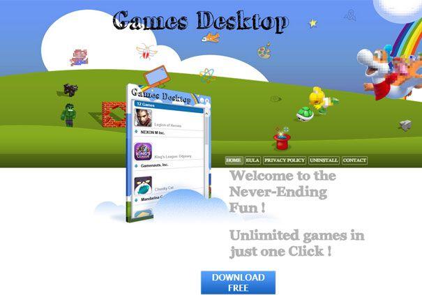Огляд програми games desktop