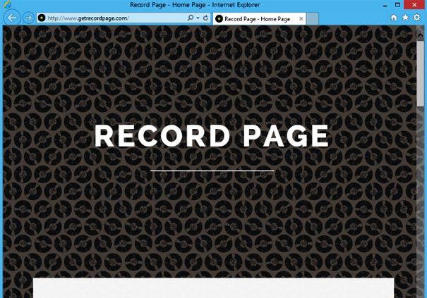 Огляд програми record page