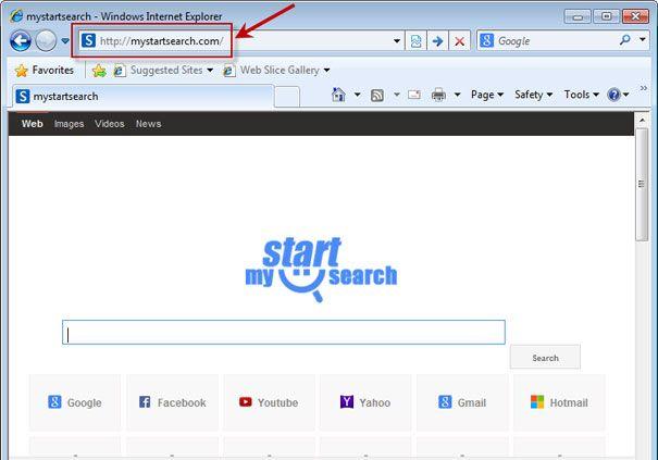 Огляд утиліти mystartsearch uninstall