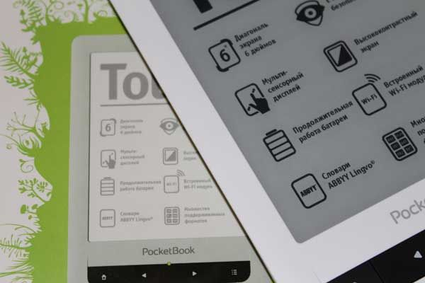 Pocketbook touch - огляд електронної книги
