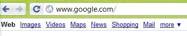Подробиці про http в google chrome.