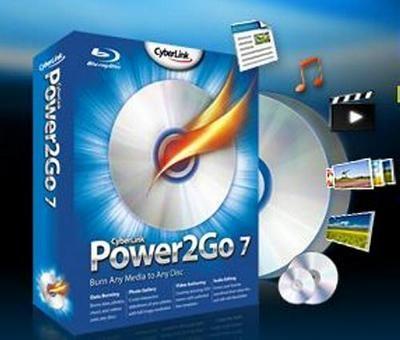 Програми для запису dvd cyberlink power2go