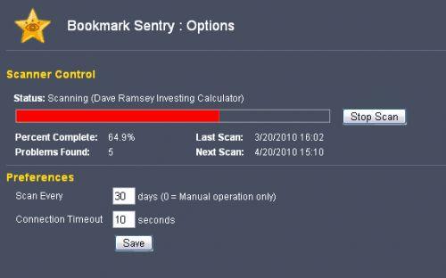 Перевірка закладок в google chrome розширення bookmark sentry.