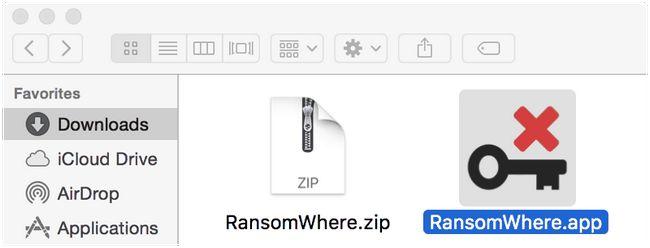 Ransomwhere дозволяє os x блокувати програми-вимагачі