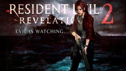 Заставка гри Resident Evil: Revelations 2