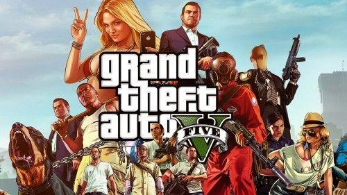 Заставка гри GTA 5