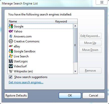 За допомогою ключових слів пошук і доступ до сайтів швидше.