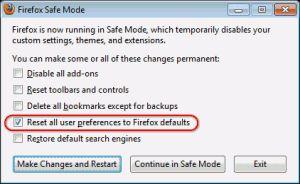 Скидання налаштувань веб-браузерів до заводських за замовчуванням.