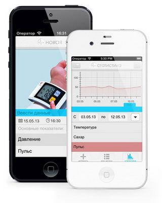 Сьогодні відбувся перший додаток - lt: health з серії програм life tracker
