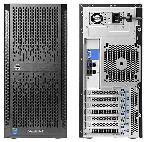 Сервер hp proliant ml150 gen9, огляд, можливості