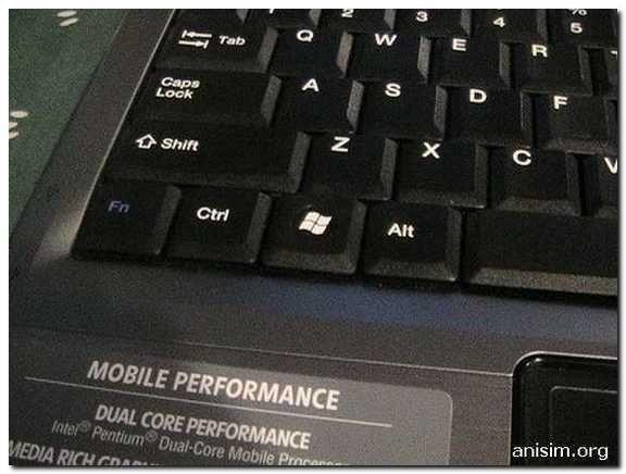 Сполучення клавіш у windows
