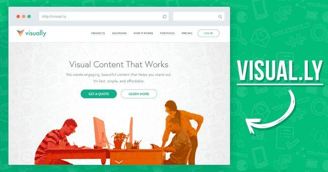 Створення інфографіки онлайн за допомогою Visual