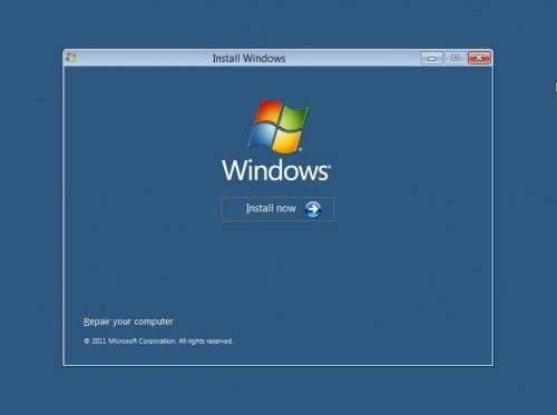 Підручник установка windows 8