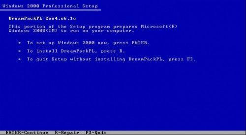 Вхід в windows xp без зміни існуючого пароля з dreampackpl.